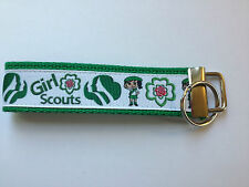 Girl Scouts Ribbon Key Fob Chain Leader Gift Discount 6 or More for Troop