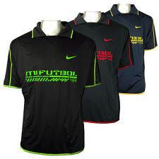 Mens Nike Dry Dri FIT Football Running Shirt Training Top Gym Polo Tee Sports