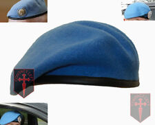 NEW High Quality United Nations UN Beret All Sizes (Sky Light Blue Army Military