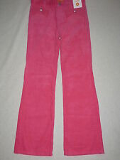 Gymboree CHEERY ALL THE WAY Pink Corduroy Bow Gem Pocket Pants NWT