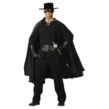 Bandido Costume Adult Zorro Mexican Cowboy Deluxe Halloween Fancy Dress