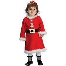 Mrs Claus Costume for Baby or Toddler Christmas Outfit Fancy Dress