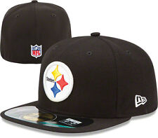 Pittsburgh Steelers New Era Sideline On Field 5950 59Fifty Black Fitted Hat New