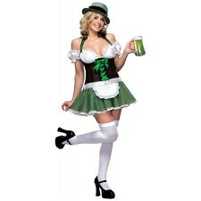 Sexy St Patricks Day Costumes Irish Beer Girl Outfits Fancy Dress