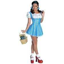 Sequin Dorothy Costume Adult Wizard of Oz Storybook Halloween Fancy Dress