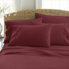 (6) PIECE DEEP POCKET HOME COLLECTION SERIES SUPER SOFT BED SHEETS SHEET SET