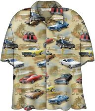 Chevy Chevelle SS Classic Cars Camp Hawaiian Shirt by David Carey