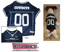 Dallas Cowboys NFL Dog Pet Football Officially Licensed Jersey Shirt (all sizes)