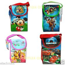 Disney characters Non Woven Utility Bag w/ Flap  Mickey Cars princess toy story