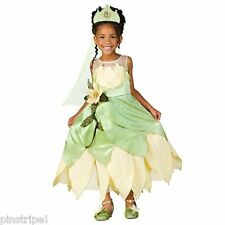 Disney Store Deluxe Princess and the Frog Tiana Wedding Gown Dress Costume