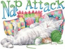 Nap Attack with Mouse   Cat Tshirt   Sizes/Colors