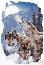 3 Wolves and Mountain  Hoodie   Sizes/Colors