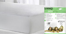 Fitted Waterproof Bed Sheet Terry Towelling Mattress Protector Cover