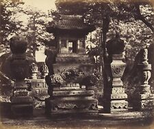 Photo Print Reproduction Interior Of Tomb At Depot Near Peking Felice Beat