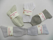 Scottish made 2 PLY Cashmere Blend Luxury Warm soft Ladies BED SOCKS Small 3 - 5