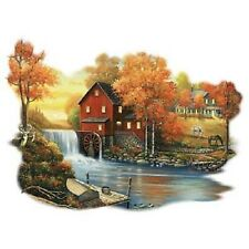 Autumn Sunset At The Old Mill  Tshirt   Sizes/Colors