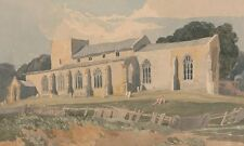 Blickling Church Norfolk From South East John Sell Cotman 19th Century- Art Prin