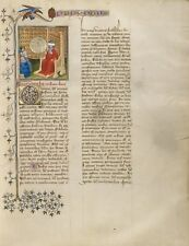 Boethius Discusses Music Group Men Virgil Master French Active About 1380 1420 1