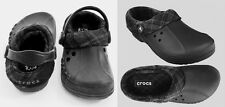 Crocs Blitzen Flannel Kids Black Charcoal C6/7 C8/9 C10/11 C12/13 J1 J2 J3