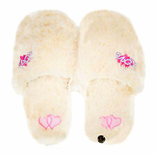Girls Plush Lovely Footwear Feet Slippers 3 Size 4 Colors Black Friday Deals