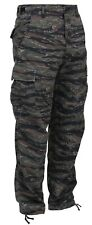 bdu pants military style tiger stripe camo cargo trousers  rothco 7995
