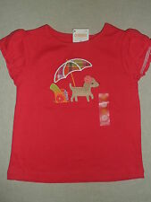 Gymboree PRETTY POSIES Pink Beach Umbrella Pup Puppy Dog Top Shirt NWT 12 18 24