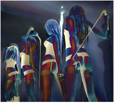 Time to Evaluate  'Ltd Edition Erotic Whip Print - A1/A2/A3 sizes'  Matt Slade