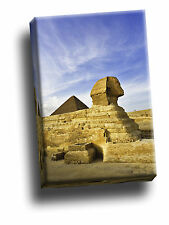 The Sphinx Giza Near Cairo Egypt Portrait Giclee Canvas Picture Art
