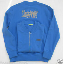 Mens Versace Jeans Couture Mens Full Zip Royal Blue Jacket