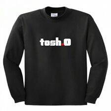 Long Sleeve Tosh O Shirt Tee Brand New all sizes colors Comedy Central