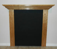 Fireplace Mantle Mantel Shelf Oak Cherry Maple Poplar U Pick Size and Finish