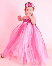 flower girl holiday party birthday photograph tutu dress you pick color , size,