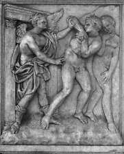 Photo Print Expulsion of Adam and Eve from the Paradise Quercia, Jacopo Della -