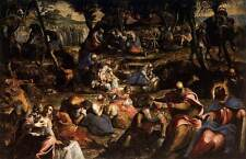 Photo Print The Jews in the Desert Tintoretto- various sizes jwg-12214