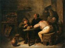 Photo Print Interior of a Smoking Room Brouwer, Adriaen - in various sizes