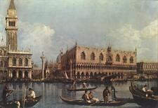 Photo Print View of the Bacino di San Marco St Mark's Basin Canaletto - in var