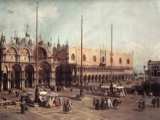 Photo Print Piazza San Marco: Looking South-East Canaletto - in various sizes jw