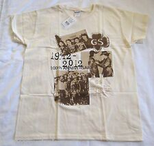 Girl Scout 100th Anniversary PHOTO T-SHIRT Uniform Top Blouse Adult Sizes NEW