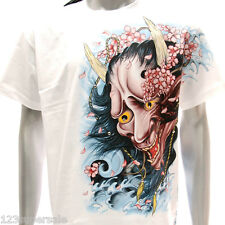 sc12 M L XL XXL 3XL Survivor Chang T-shirt Tattoo STUD Japanese Demon Sakura
