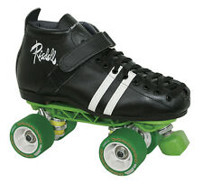 Mens Roller Derby Speed Skates - Riedell 265 Sunlite With Derby Wheels Size 4-13