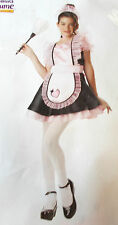 French Maid Dress Child Costume Medium X-Large NIP