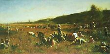 Photo/Poster - Cranberry Harvest - Eastman Johnson 1824 1906