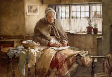 Photo/Poster - At Evening Time It Shall Be Light - Walter Langley 1852 1922