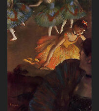 Photo/Poster - Ballerina And Lady With Fan - Edgar Degas 1834 1917_1