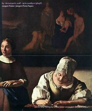 Photo/Poster - Lady Writing Letter With Her Maid (Detail) - Vermeer Johannes 163