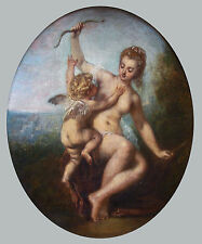 Art Photo Print - L'Amour Desarme - Antoine Watteau 1684 1721