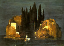 Art Photo Print - Isle Of Dead - by Arnold Bocklin