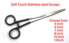 Soft Touch Stainless Steel Straight Forceps Available In 6 Sizes
