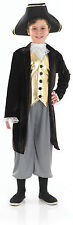 BOYS GEORGIAN REGENCY & TOWN CRYER 18TH CENTURY FANCY DRESS COSTUME OUTFIT NEW