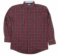 Mens Wrangler George Strait Long Sleeve Plaid Button Down Shirt MGS12RM Any Size